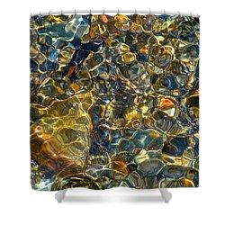 Underwater Jewels Shower Curtain