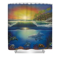 Underwater Paradise Shower Curtain
