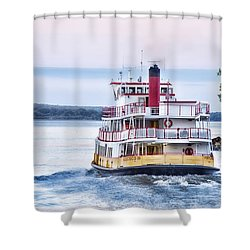 Underway Shower Curtain