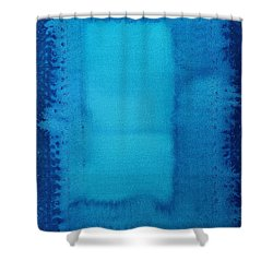 Undiscovered Country Original Painting Shower Curtain by Sol Luckman