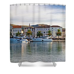 Unesco Town Of Trogit View Shower Curtain
