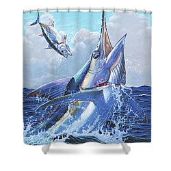 Unexpected Off0093 Shower Curtain