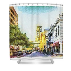 Union And 3rd Shower Curtain
