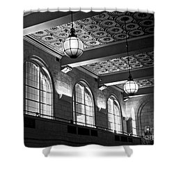 Union Station Balcony - New Haven Shower Curtain