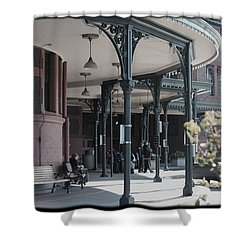 Union Street Station Shower Curtain