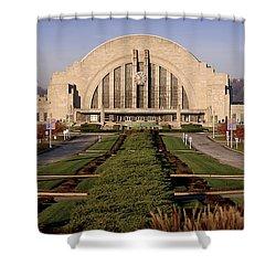 Union Terminal Shower Curtain