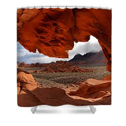 Unique Arch Nevada Shower Curtain by Leland D Howard