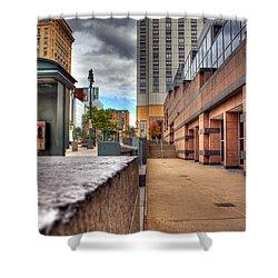 Unique City View Shower Curtain by Tim Buisman