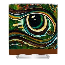 Unique Spirit Eye Shower Curtain
