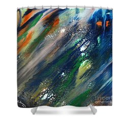 Ghost Shower Curtain