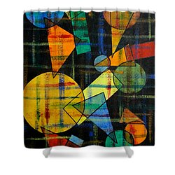 Mixing Shower Curtain