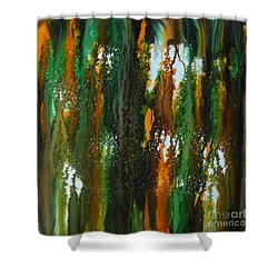 Spring Of Duars Shower Curtain