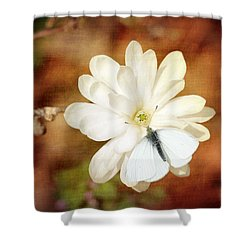 Shower Curtain featuring the photograph Unity by Trina  Ansel