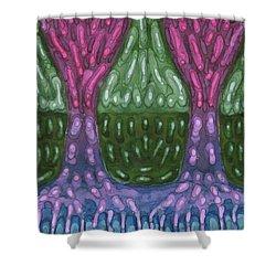 Unity Shower Curtain by Wojtek Kowalski
