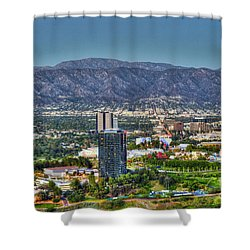 Universal City Warner Bros Studios Clear Day Shower Curtain