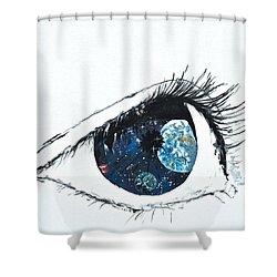 Universal Eye Shower Curtain