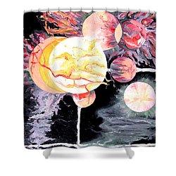 Universe Shower Curtain by Daniel Janda