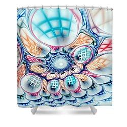 Universe In A Bag Shower Curtain by Anastasiya Malakhova