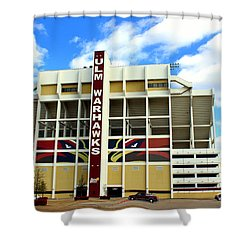 University Of Louisiana At Monroe Malone Stadium Shower Curtain