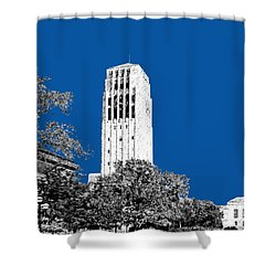University Of Michigan - Royal Blue Shower Curtain