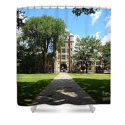 University Of Michigan Law Quad Shower Curtain