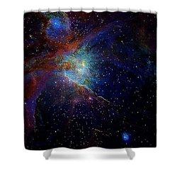 Unknown Distant Worlds Shower Curtain