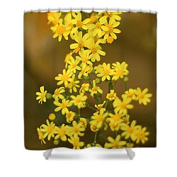 Unknown Flower Shower Curtain