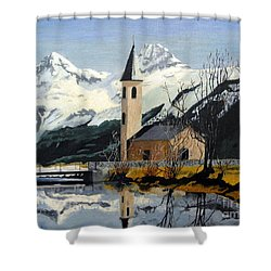 Unknown Place Of Worship Shower Curtain