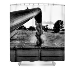 Unloading Shower Curtain