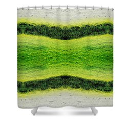 Unnatural 2.1 Shower Curtain by Giovanni Cafagna
