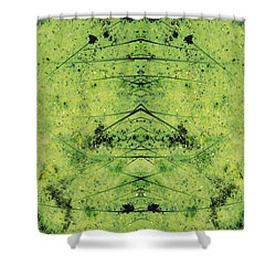Unnatural 3 Shower Curtain by Giovanni Cafagna