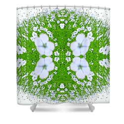 Unnatural 37 Shower Curtain by Giovanni Cafagna