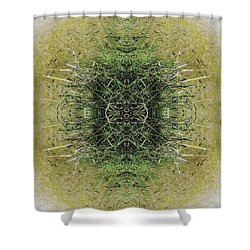 Unnatural 6.1 Shower Curtain by Giovanni Cafagna
