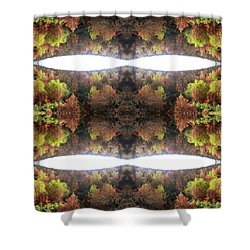 Unnatural 77.1 Shower Curtain by Giovanni Cafagna
