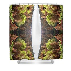 Unnatural 81 Shower Curtain by Giovanni Cafagna