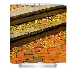 Unswept Shower Curtain
