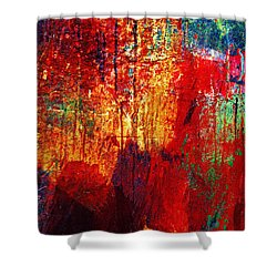 Untamed Colors  Shower Curtain