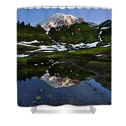 Untarnished View Shower Curtain by Ryan Manuel