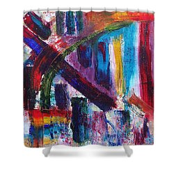 Shower Curtain featuring the painting Untitled # 9 by Jason Williamson