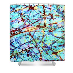 Breaking Free Shower Curtain by Odessa Christiana