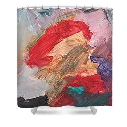 Untitled #56  Original Painting Shower Curtain
