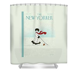 New Yorker March 1st, 2010 Shower Curtain