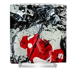 Untitled Number Two  Shower Curtain