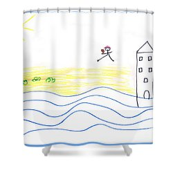 Untitled  Shower Curtain by Pixel  Chimp