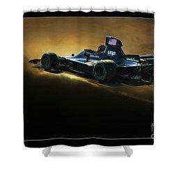 Uop Shadow F1 Car Shower Curtain