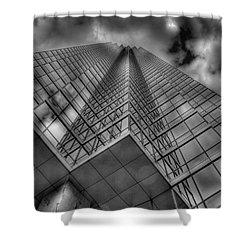 Up 3 Shower Curtain by Mark Alder
