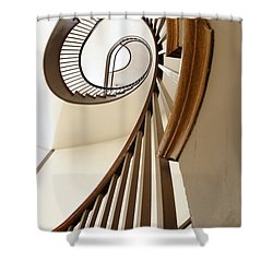 Up Stairs Shower Curtain