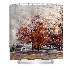 Up State Ny - Nyack Shower Curtain