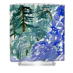 Up The Creek Shower Curtain