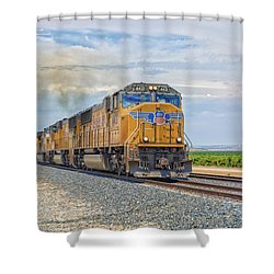 Up4421 Shower Curtain by Jim Thompson